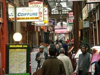 Restaurants indiens du passage Brady. 10 ème arrondissement