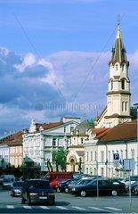 Vilnius  le centre ville