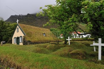 OF cemetery in southern Iceland