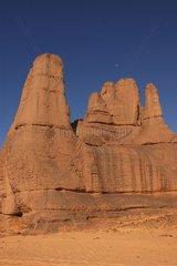 Paysage du Hoggar Désert du Sahara Algérie