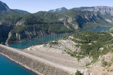Transformer of the Serre Ponçon dam France