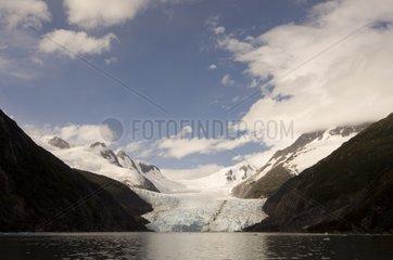 Garibaldi Glacier Tierra del Fuego Chile
