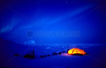 Camping peninsula of Turner East coast of Greenland [AT]
