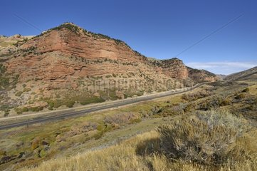 Echo Canyon northeast of Echo Resort in Utah USA