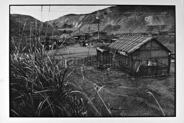 Cabin workers at the mine Ha Tu Vietnam
