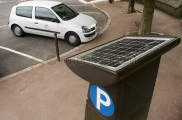 Car parking and photovoltaic Sèvres