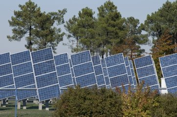 Central solar photovoltaic solar trackers France