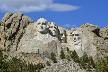 Mount Rushmore  South Dakota  USA