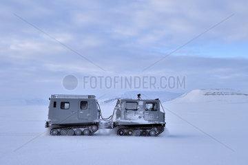 Transportation plows - Spitsbergen