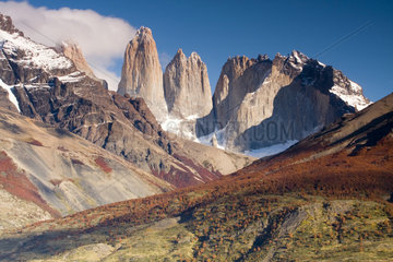 Paine Towers - Torres del Paine Chile