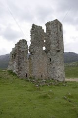 Ruins of the McCleods of Assynt's Ardvrecht Castle