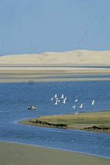 Lagoon of Naïla in the area of Sidi Akhfennir Morocco