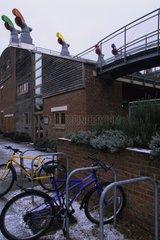 La cité écologique de Bedzed à Londres Royaume Uni