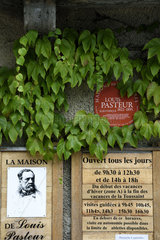 Museum of the House of Louis Pasteur in Arbois  Jura  France