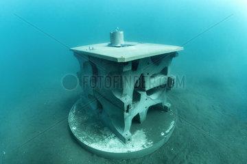 Experimental micro reef (xreef)  Protected Marine Area of the Agathe Coast  Herault  France