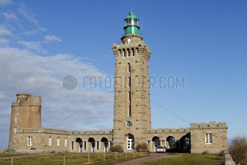 Lighthouse of Cap Frehel  Brittany  France
