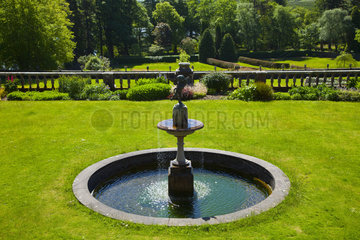 Torosay Castle Gardens - Mull island Hebrides Scotland