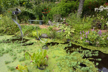 Garden and Objects of Panrees - Vosges France