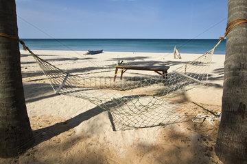 Hammock on a tropical beach - Sri Lanka