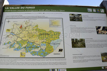 Pannel of the Fango Valley - France Corsica