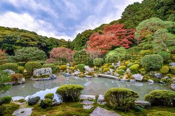 Joju-in 's garden in Kyôto  Japan