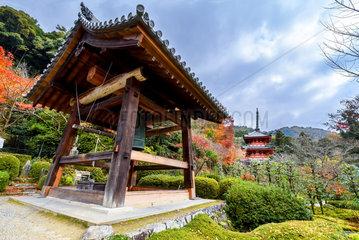 Mimurotoji's pagoda  Kyoto  Japan