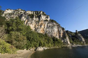 Gorges de l'Ardeche Nature Reserve  France