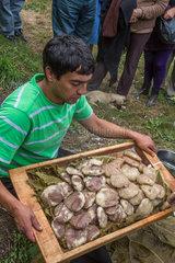Cooking Curanto - Chiloe Island Chile