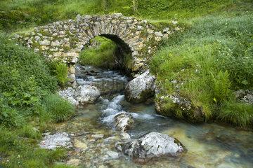 Stone bridge - Picos de Europa Asturias Spain