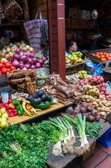 Fruit and vegetable market of Anjelmo - Puerto Montt Chile