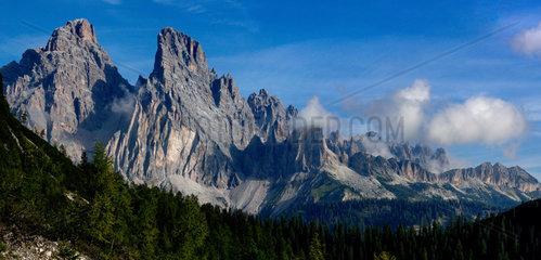 Cristallo  Dolomites  Italie
