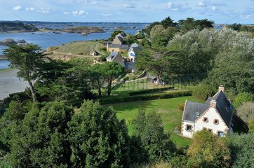Southern part of Ile-de-Brehat  Brittany  France