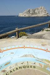 Rock Capuchin - Sea Figuerolles France