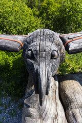 Maison du Bois Museum  Meolans-Revel Village  Ubaye Valley  Alpes Haute Provence  France  Europe