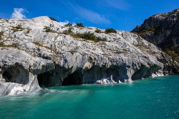 Marble chapel - Lake General Carrera Chile