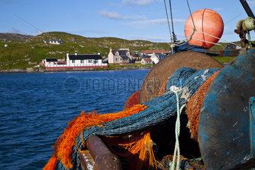 Fishing net - Scalpay Isle Lewis Hebrides Scotland