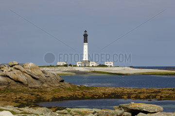 Lighthouse on the island of Sein - France Bretagne