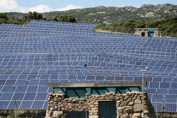Solar Electric Power Generation Plant - Corse France