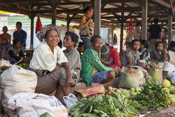 Soe Market - Timor Indonesia