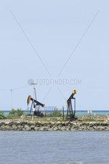 Oil pumps - Seram Island Maluku Indonesia
