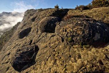 Sandstone balls of Serre d'Autruy - Baronies France