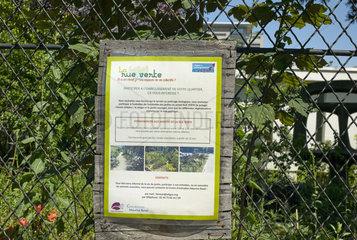 Garden 'Urban Seedlings' - Paris 12 France