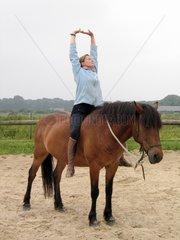 Yoga Pony bareback - France