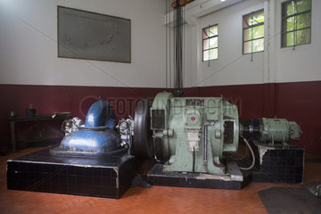 Penstock  Ponta Figo Power Station  Sao Tome and Principe Island