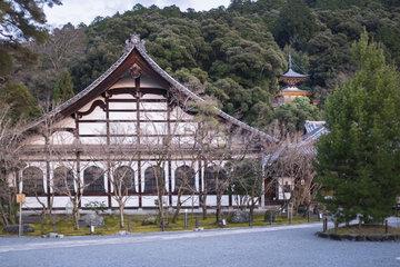 Kakujudai Shuin Building in Zenrin ji Temple  Kyoto  Japan