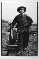 Portrait of a minor based on a cradle to coal Vietnam