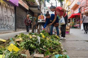 Market spices Valparaiso - Chile