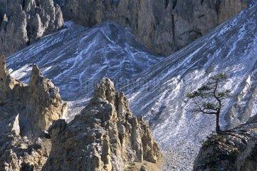 Casse déserte Queyras Alpes France