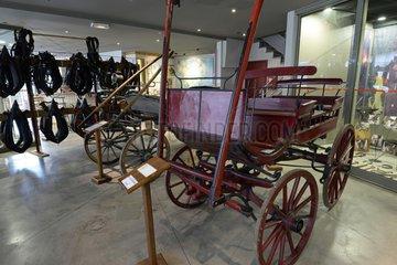 Carts and carriages  Relais Museum of horse Comte and forest  Levier   Haut-Doubs  Franche-Comté  France