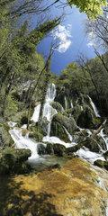 Cascades of Syratu  Loue  Doubs  Franche-Comté  France